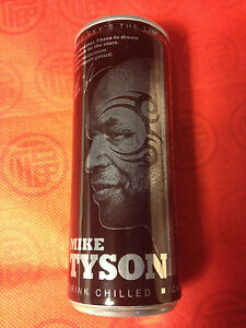 MIKE TYSON - BLACK ENERGY CAN - 250ml EMPTY (GREEN) - POLAND 2014 - <span itemprop='availableAtOrFrom'>Gdynia, Polska</span> - MIKE TYSON - BLACK ENERGY CAN - 250ml EMPTY (GREEN) - POLAND 2014 - Gdynia, Polska