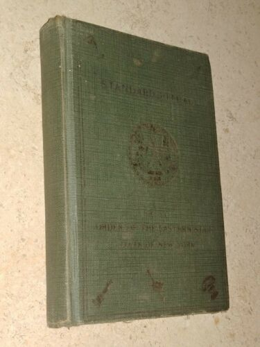 Standard Ritual of the Order of The Eastern Star Signed by Francis Waldron 1916