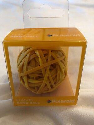 New Polaroid Orange Rubber Elastic Band Ball Orange 2