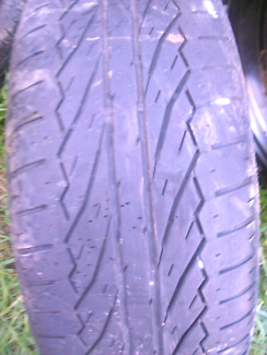 215/60/16 Dunlop Used Tyre  On A Steel Rim Free Giveaway