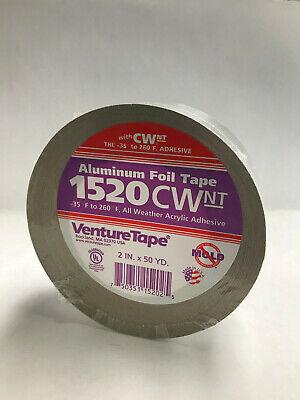NEW! 3M Venture Tape, 1520CW Cold Weather Alum. Foil, 2