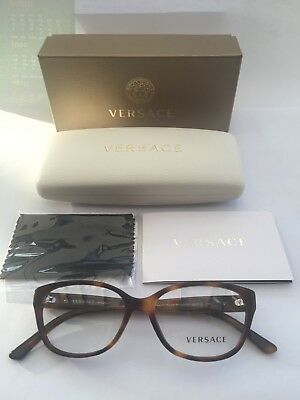 New Ladies Versace Acetate Ophthalmic Frame Model OVE3189B in Colour 5061 Havana