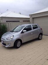 2013 Mitsubishi Mirage Sport - Silver, low kms Scarborough Stirling Area Preview