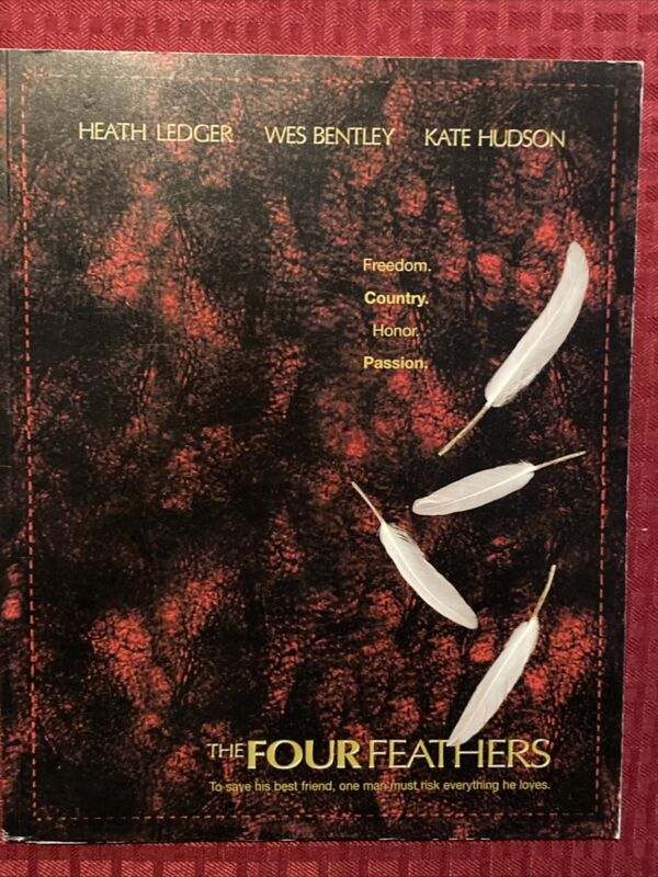 The Four Feathers Pressbook 2002 Heath Ledger Wes Bentley Kate Hudson Book Only