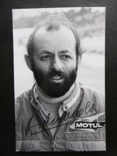 Henri Pescarolo Autogramm signed 9x13 cm Postkarte s/w
