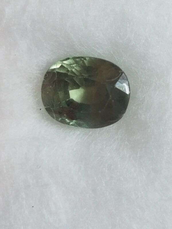 GFCO Swiss Lab Certified Natural Alexandrite 1.04 Cts stone for engagement ring
