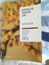 Australian taxation law book Merrimac Gold Coast City Preview