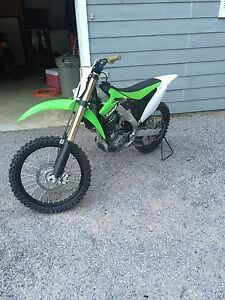Kawasaki 2014 Kx 250f mint condition!  Peterborough Peterborough Area image 3