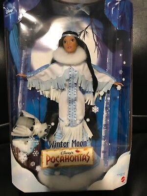 Disney Collector Winter Moon Pocahontas Doll Mattel 1999 Rare NRFB