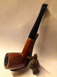 Restored Tobacco Smoking Pipe Made in France