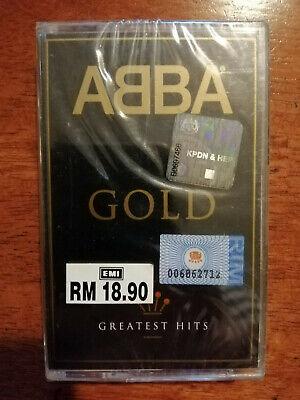 Abba - Gold Greatest Hits - Malaysia Original Press Cassette (Brand New)