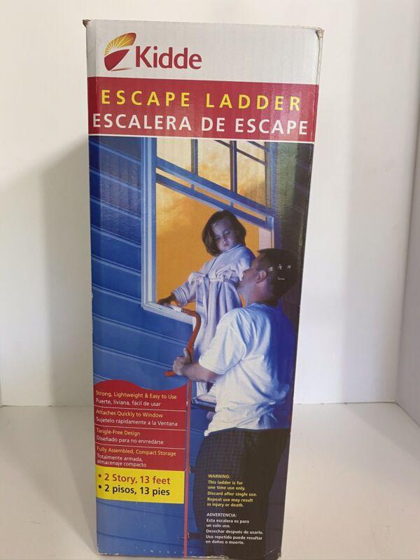 Kidde 2 Story 13 Feet window Escape Ladder bedroom window New in Open Box