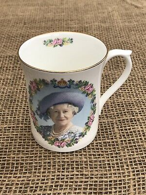 Argyle China Queen Mother 100 Glorious Years Mug 2000