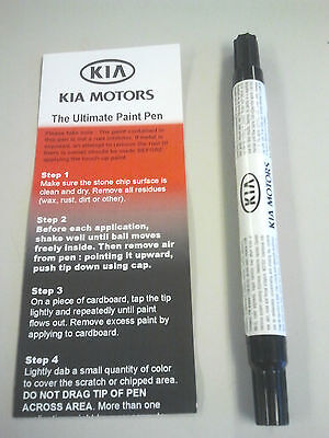 Kia Snow White Pearl Touch Up Paint Color Code SWP UA011-TU5014SWP