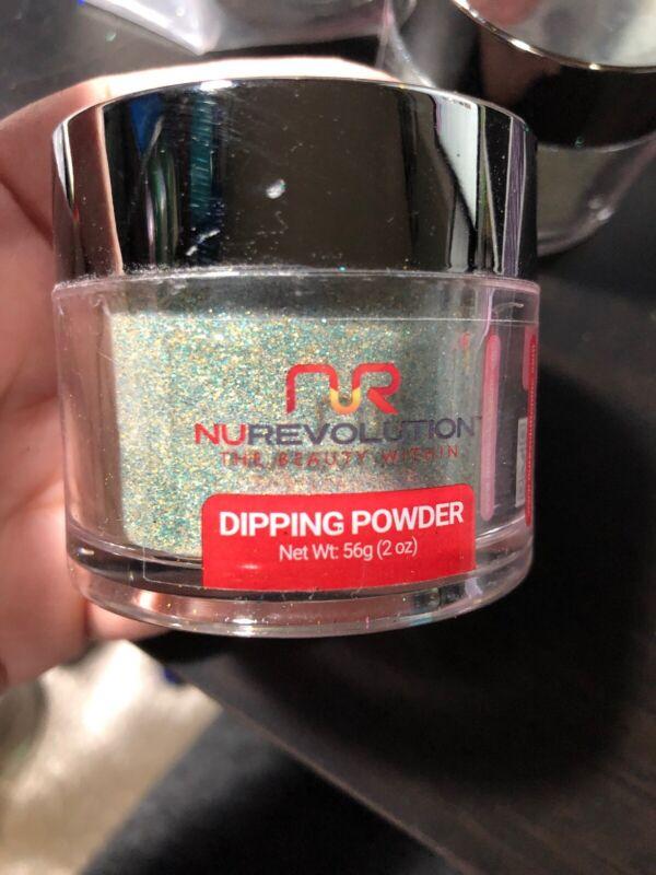 New And Sealed Nurevolution Dipping Powder 2oz #63c Midnight City