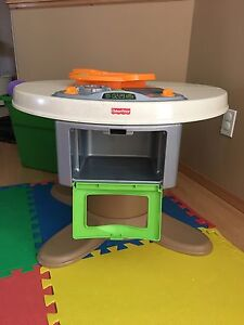 Fisher price kitchen & table set