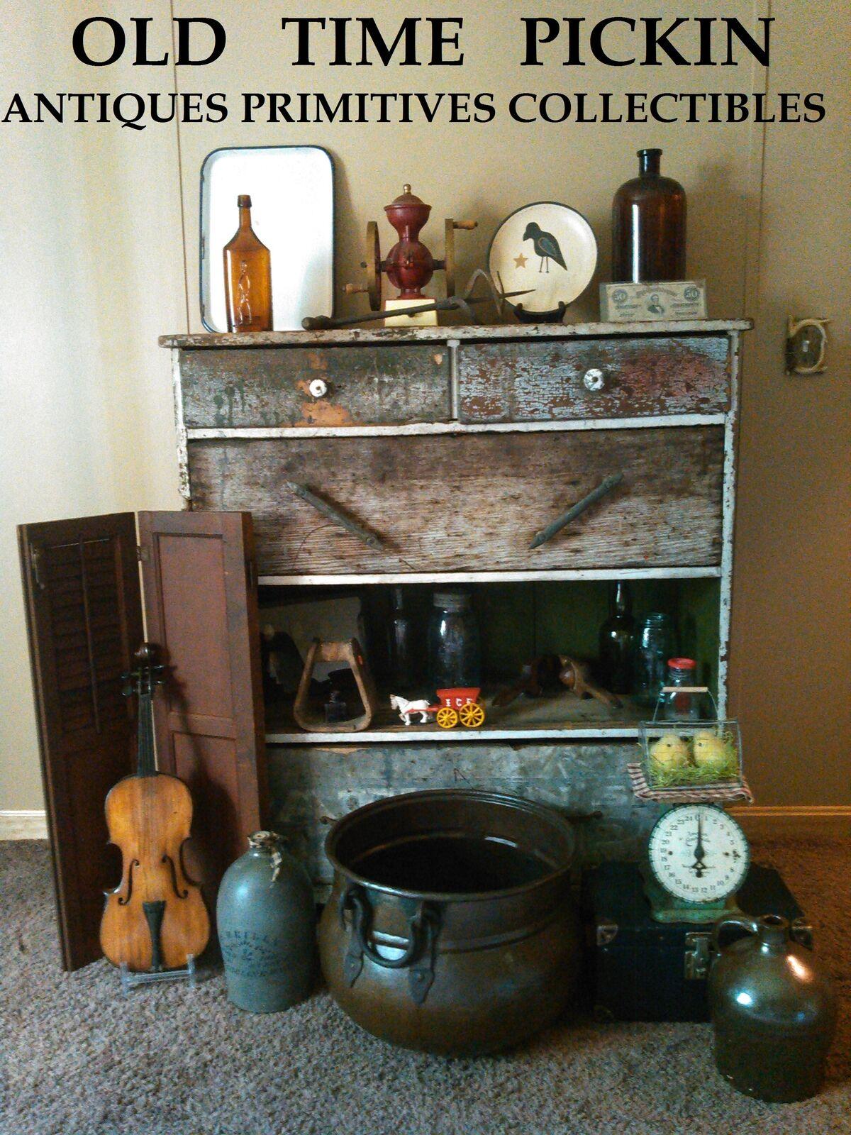 Old Time Pickin Antiques Primitives