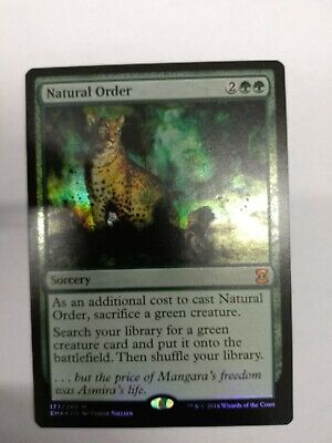 Natural Order - FOIL - Eternal Masters - Inglese - Magic The Gathering