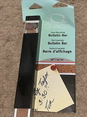 Universal Cork Bulletin Bar Brown 18 X 1 43418