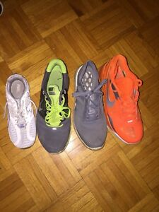Men and Women shoes - Used - Nike, Adidas, Puma