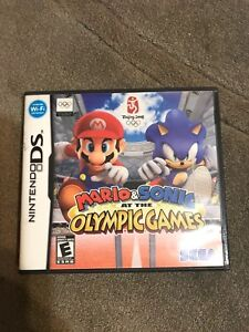 Mario and sonic olympics ds games