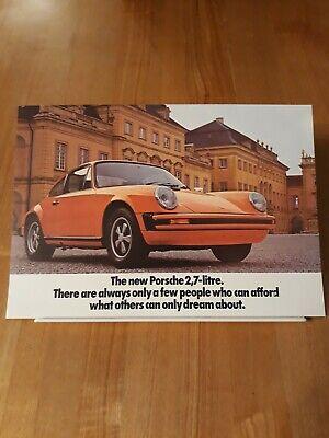 1984 Porsche Dealer COLOR Brochure 944 911 928 S CARRERA TURBO SPECS MINT NOS