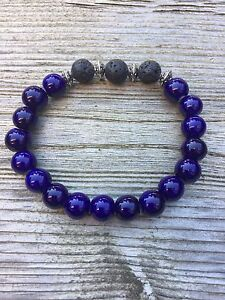 Aromatherapy Essential Oil Bracelets with Lava rock London Ontario image 2