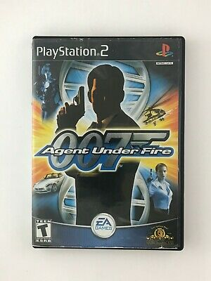 James Bond 007 in Agent Under Fire - Playstation 2 PS2 Game - Complete & Tested