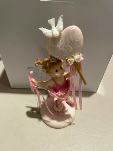 Enesco My Little Kitchen Fairies Rosie Toes Ballerina Fairie 4036663  New