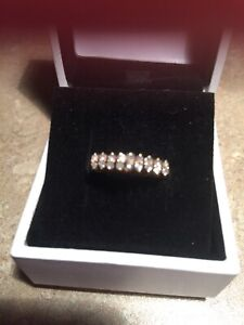 14 kt. genuine (real) diamond ring for sale