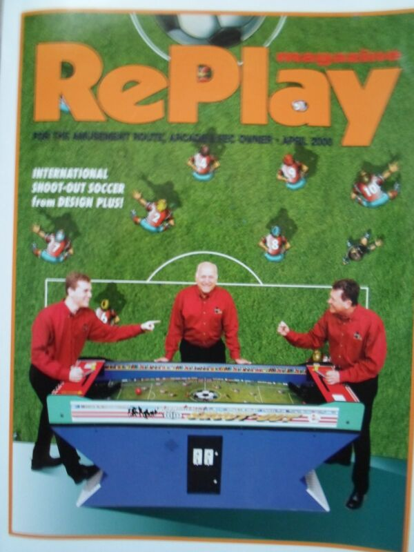 coin-op Amusements april 2000 REPLAY MAGAZINE:vol 15 number7