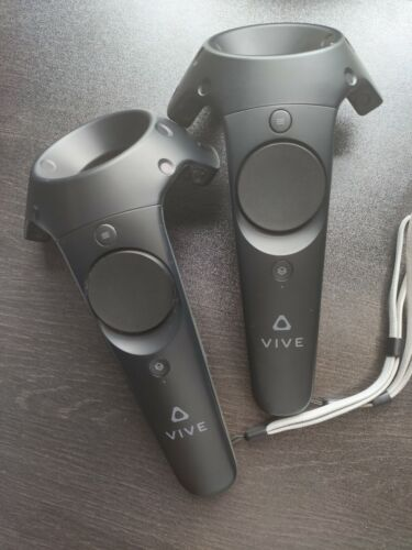 HTC Vive Wands Controllers Pair for SteamVR VR Virtual Reality Headsets