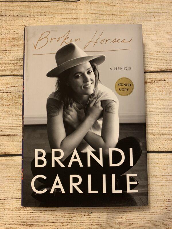 BRANDI CARLILE Signed Copy First Edition Broken Horses A Memoir Autograph Book