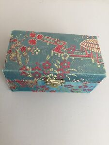 Chinese Stress Relief Balls in Decorative Cloth Wrapped Box