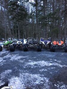 LOOKING FOR RACE QUAD OR DIRTBIKE WITH PAPERS