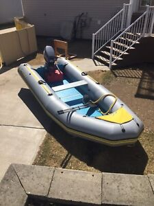14' Inflatable boat (Peace River)