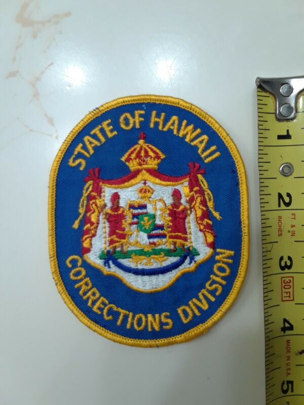 State Of Hawaii Corrections Division Patch Nice condition police prison gaurd