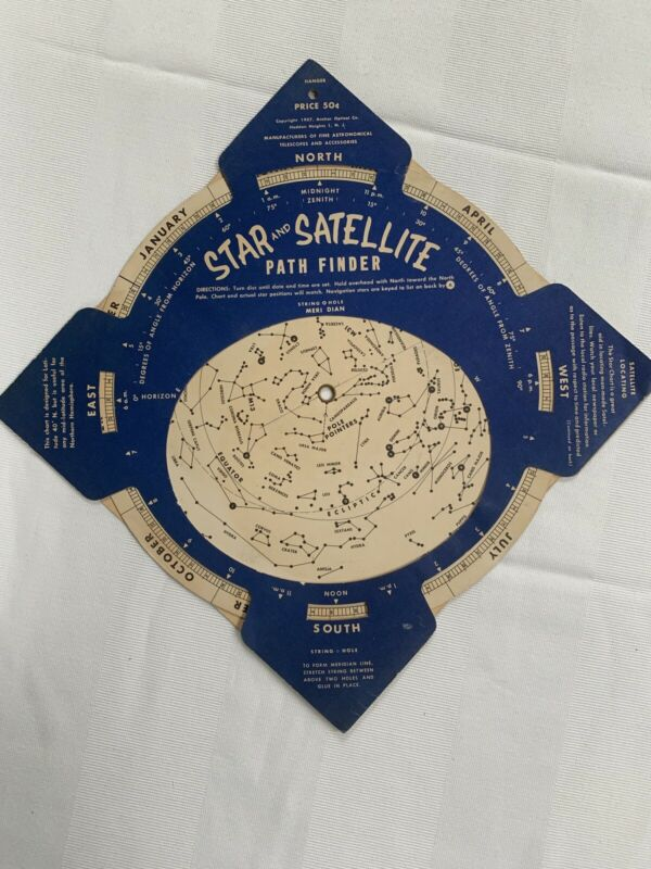1957 Star and Satellite Path Finder--Anchor Optical Co.