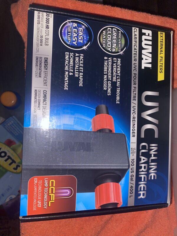 Fluval UVC In-Line Clarifier 100g BRAND NEW SEALED