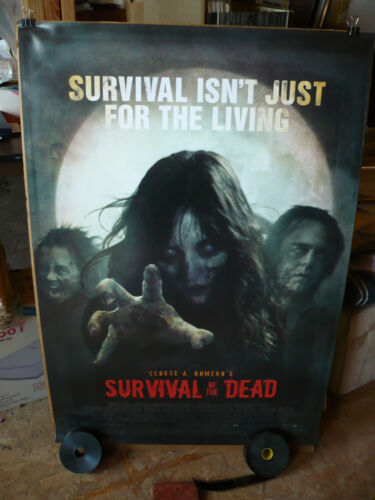 SURVIVAL OF THE DEAD, NM orig rolled 1-sh / movie poster [George Romero]
