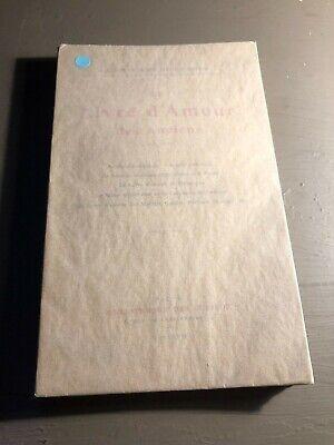 [8635 - B11] Livre d'amour des anciens - Maitres de l'amour Bibliothèque curieux