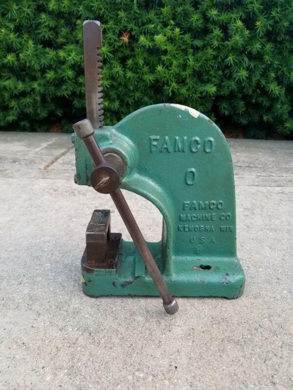 Famco No 0 Mini Bench Top Arbor Press