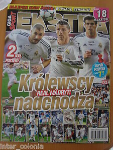 Giga Sport Extra, Real Madrid only, 18 posters inside. - Laki Markowe, Polska - Giga Sport Extra, Real Madrid only, 18 posters inside. - Laki Markowe, Polska