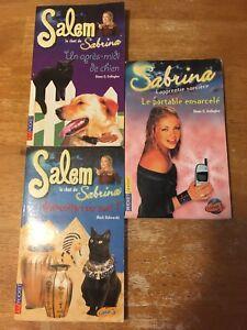 """Ensemble de livres """"Sabrina l'apprentie sorcière """""""
