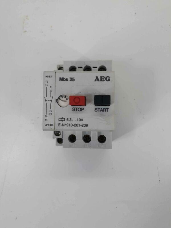 AEG 910-201-209 Manual Motor Starter 6.3-10A