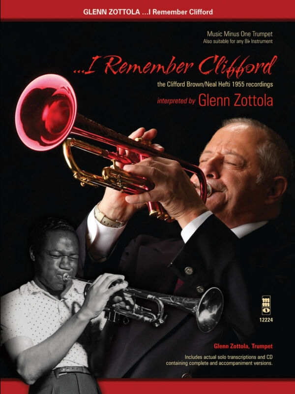 I Remember Clifford for Trumpet Solo Sheet Music Minus One Play-Along Book Audio