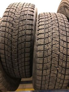 2 Used winter tires 225/55R19