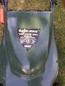 Electric mower and edge trimer