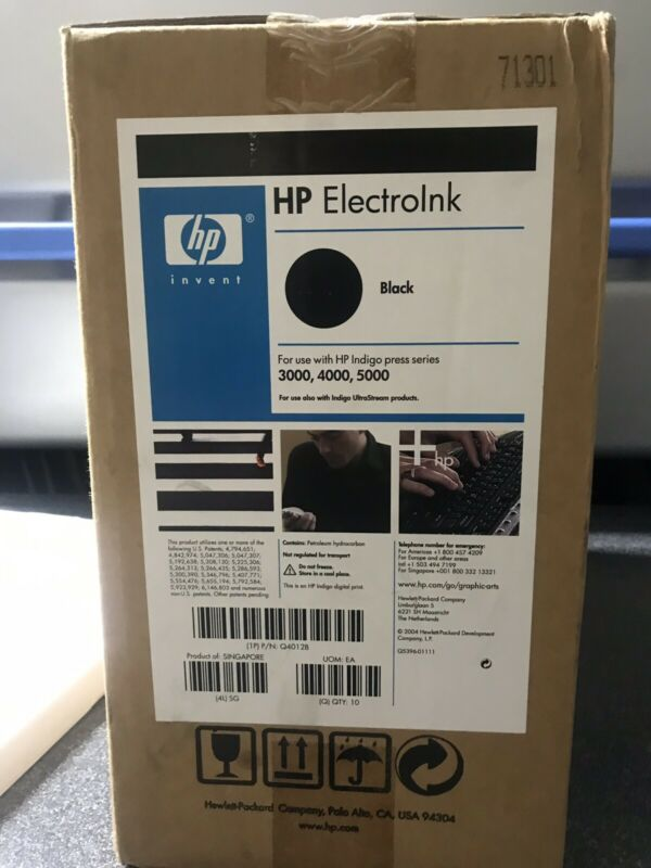 HP Indigo Ink Black ElectroInk for 3000/4000/5000 Series