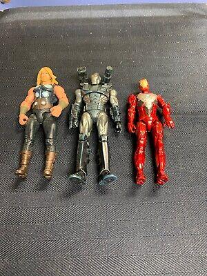 Marvel Universe 3.75 War Machine Thor Iron Man  Loose Lot